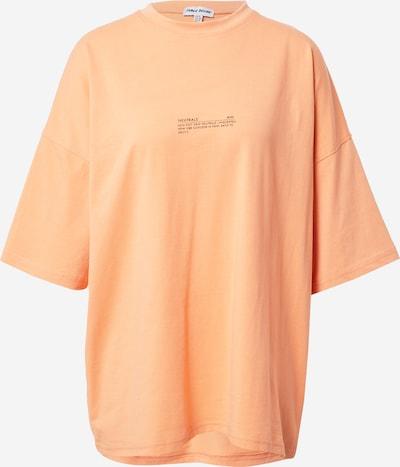 Public Desire Oversized shirt in de kleur Lichtoranje, Productweergave