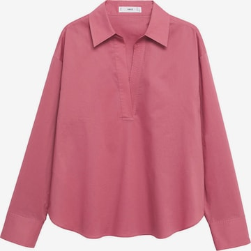 MANGO Bluse 'CHING' in Rot