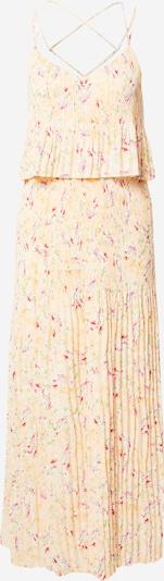 VILA Kleid 'RIKKA' in grün / pastellorange / hellrot / weiß, Produktansicht