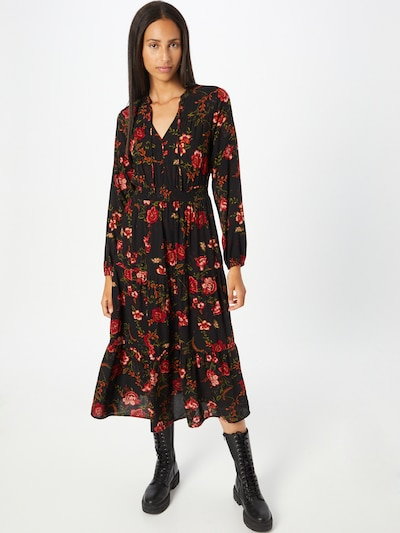 Palaidinės tipo suknelė 'NOVA' iš ONLY, spalva – alyvuogių spalva / tamsiai žalia / oranžinė / raudona / juoda, Modelio vaizdas