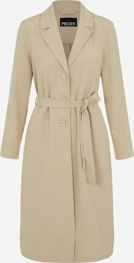 PIECES Mantel in beige, Produktansicht