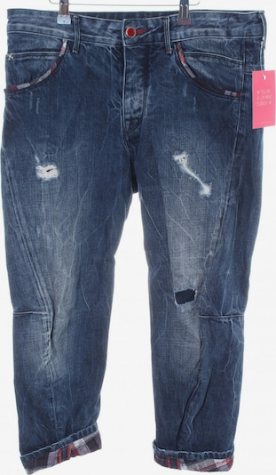 Staff Jeans & Co 3/4 Jeans in 29 in blau / rot / weiß, Produktansicht