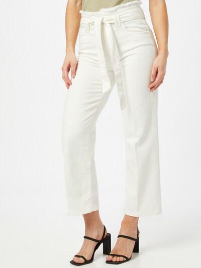 Goldgarn Jeans 'Luisa' in weiß, Modelansicht