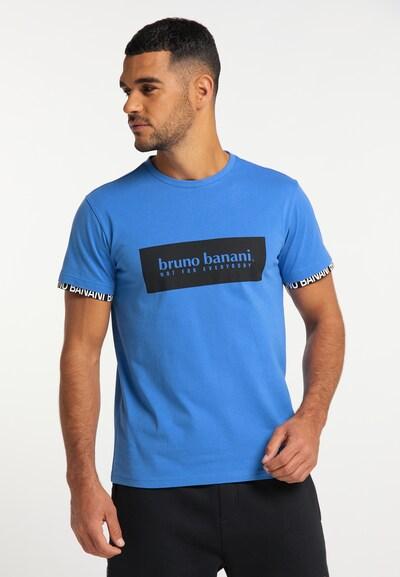 BRUNO BANANI Shirt in de kleur Blauw / Zwart: Vooraanzicht