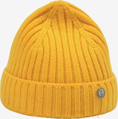 DreiMaster Vintage Mütze in gelb, Produktansicht