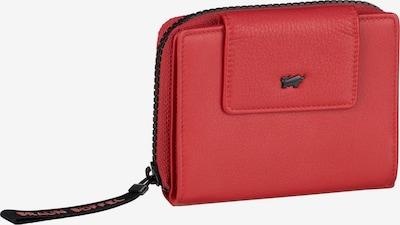 Braun Büffel Portemonnaie 'Capri' in rot, Produktansicht