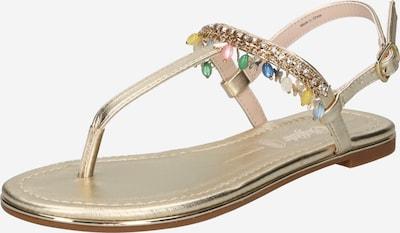 Flip-flops 'Rachel Charms' BUFFALO pe auriu, Vizualizare produs
