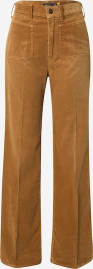 POLO RALPH LAUREN Pantalon à plis 'JEN' en marron, Vue avec produit