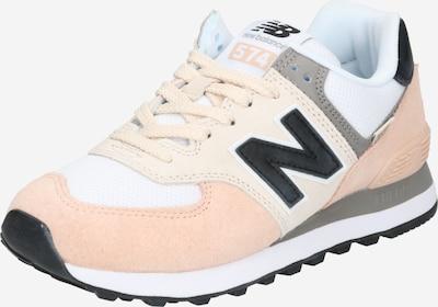 new balance Sneaker '574' in creme / dunkelgrau / puder / schwarz / weiß, Produktansicht