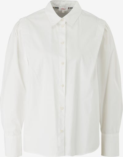 s.Oliver Blouse in de kleur Offwhite, Productweergave