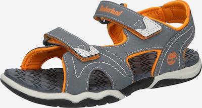 TIMBERLAND Sandale in grau / orange, Produktansicht