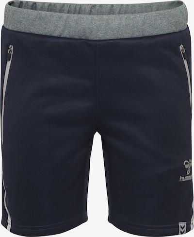 Hummel Sportbroek in de kleur Blauw / Grijs, Productweergave