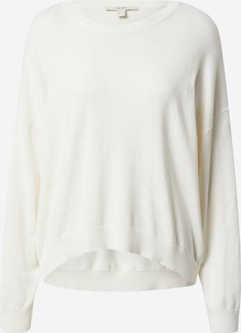 ESPRIT Kampsun, värv valge