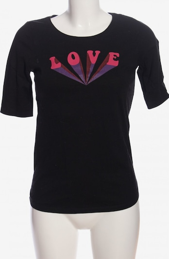 People Tree T-Shirt in S in lila / pink / schwarz, Produktansicht