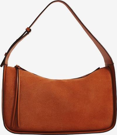 MANGO Handtas in de kleur Sinaasappel / Donkeroranje, Productweergave