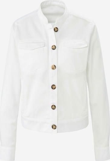 Peter Hahn Blusenjacke in weiß, Produktansicht