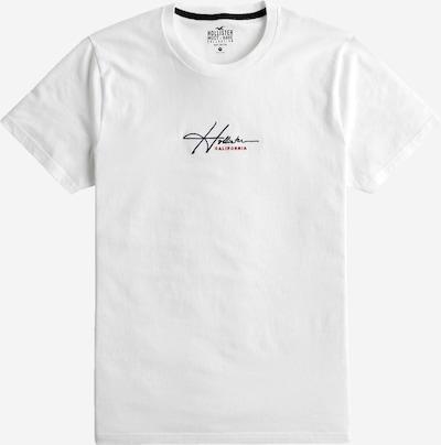 HOLLISTER T-Shirt in nachtblau / rot / weiß, Produktansicht
