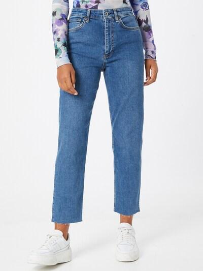 rag & bone Jeans 'Nina' in blue denim, Modelansicht