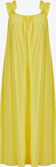 Finn Flare Maxikleid in gelb, Produktansicht