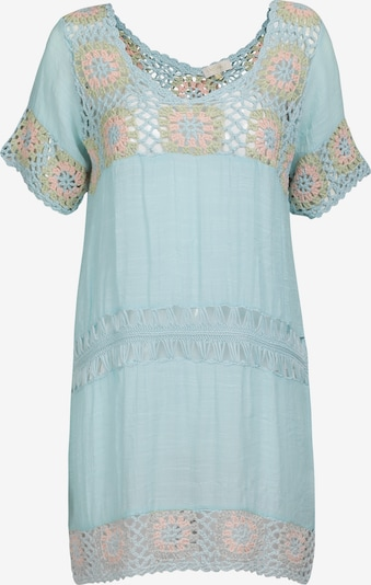 usha FESTIVAL Tuniek in de kleur Lichtblauw / Lichtgroen / Lichtroze, Productweergave