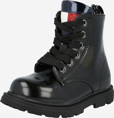 TOMMY HILFIGER Boot in Navy / Red / Black / White, Item view