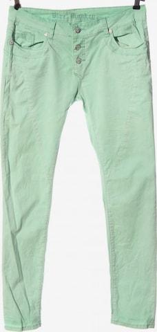 Blue Monkey Pants in L in Green