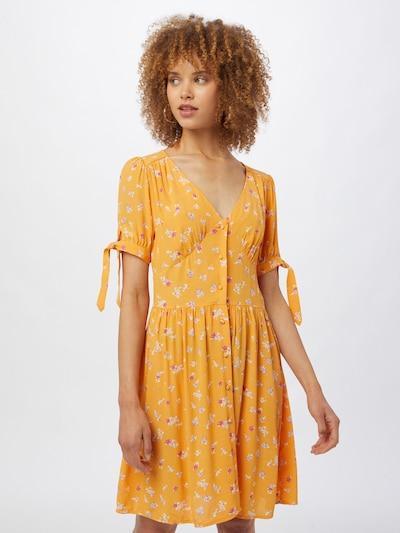 Pimkie Kleid 'D-TORI' in creme / orange / pink, Modelansicht