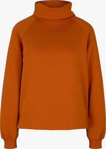 TOM TAILOR DENIM Sweatshirt in Orange