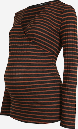 Supermom Shirt in Brown / Black, Item view