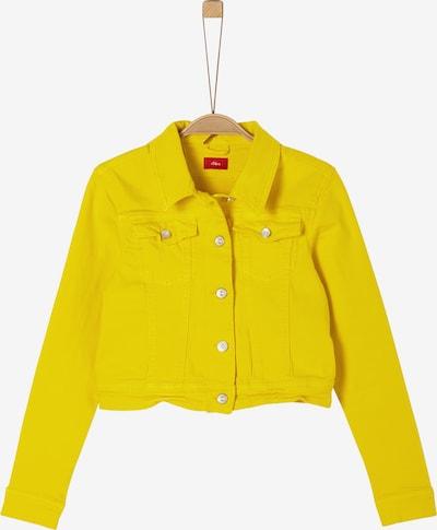 s.Oliver Jacke in gelb, Produktansicht