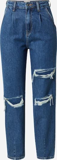 Tally Weijl Bandplooi jeans in de kleur Blauw denim, Productweergave