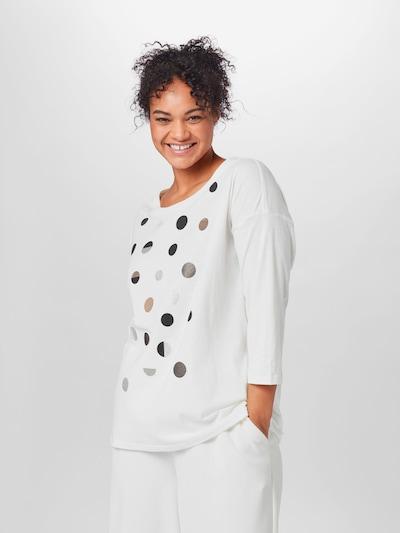 Marškinėliai iš Esprit Curves , spalva - smėlio / pilka / juoda / balkšva: Vaizdas iš priekio