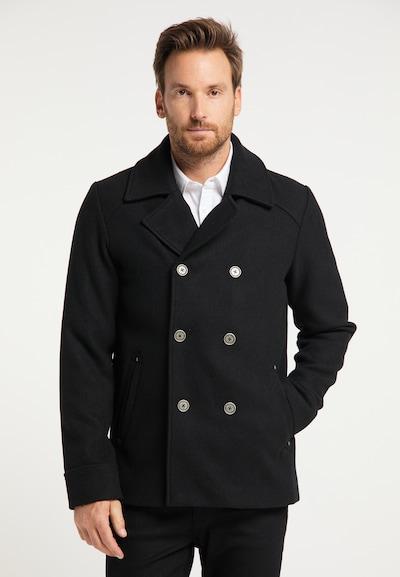 Demisezoninis paltas iš DreiMaster Klassik , spalva - juoda, Modelio vaizdas