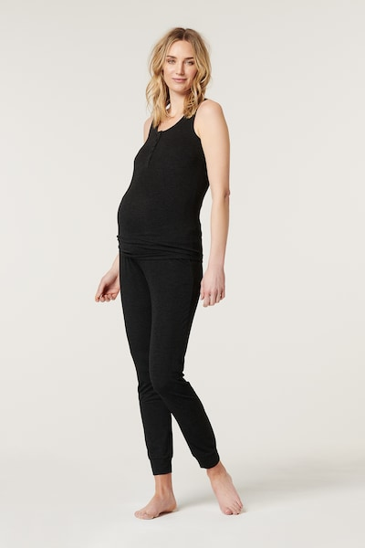 Esprit Maternity Pants in Anthracite, View model
