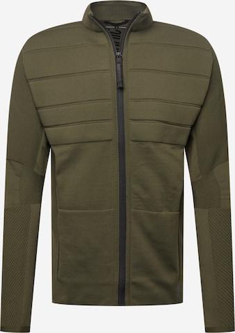 DRYKORN Плетена жилетка 'Braxten' в зелено