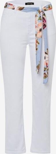 MORE & MORE Jeans in mischfarben / weiß, Produktansicht