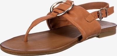 INUOVO Sandale in hellbraun, Produktansicht
