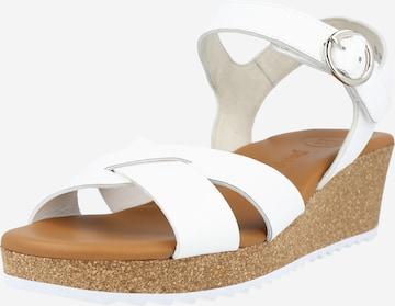 Paul Green Sandale in Weiß