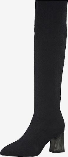 TAMARIS Overknee laarzen in de kleur Zwart, Productweergave
