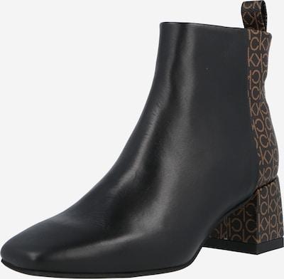 Calvin Klein Stiefelette 'SQUARED' in braun / schwarz, Produktansicht