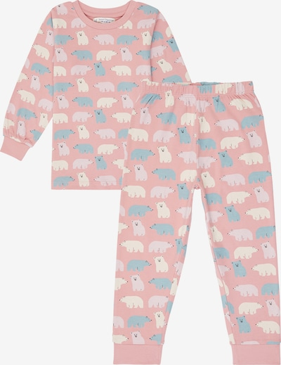 Sense Organics Pajamas 'JOHN' in Light blue / Pastel purple / Pink / White, Item view