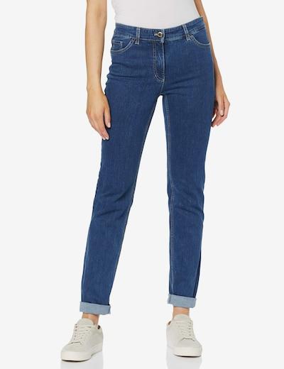 GERRY WEBER Jeans in blau / braun, Modelansicht
