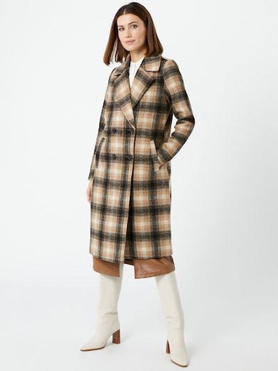 Rudeninis-žieminis paltas 'Hailey' iš VERO MODA , spalva - smėlio / ruda / juoda, Modelio vaizdas