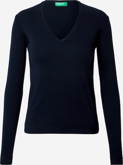 UNITED COLORS OF BENETTON Pullover in dunkelblau, Produktansicht