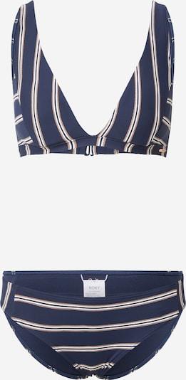ROXY Бански тип бикини 'MOONLIGHT SPLASH' в нейви синьо / злато / бяло, Преглед на продукта