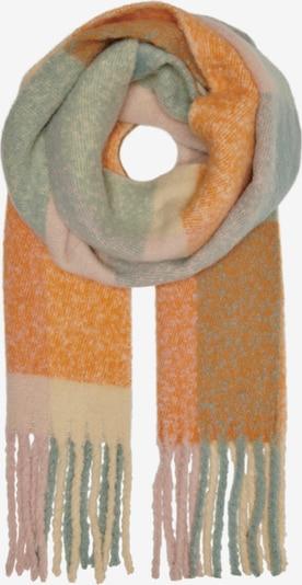 ONLY Schal 'Agnes' in beige / pastellgrün / orange / rosa, Produktansicht