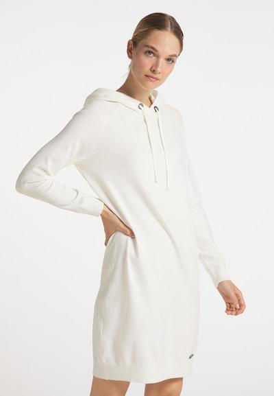DreiMaster Maritim Kleid in weiß, Modelansicht