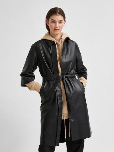 SELECTED FEMME Košilové šaty 'Sola' - černá, Model/ka