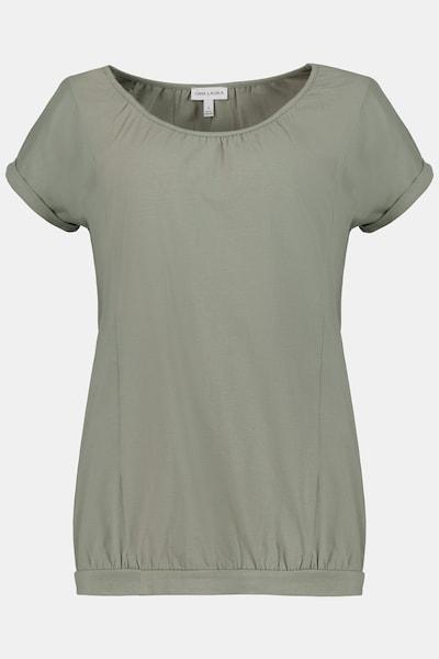 Gina Laura T-Shirt in oliv, Produktansicht