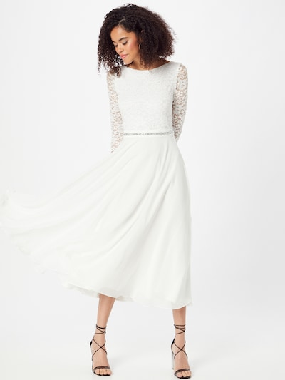 SWING Cocktail Dress in White, View model
